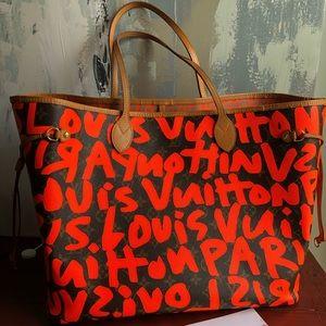 Louis Vuitton Sprouse Neverfull GM Graffiti